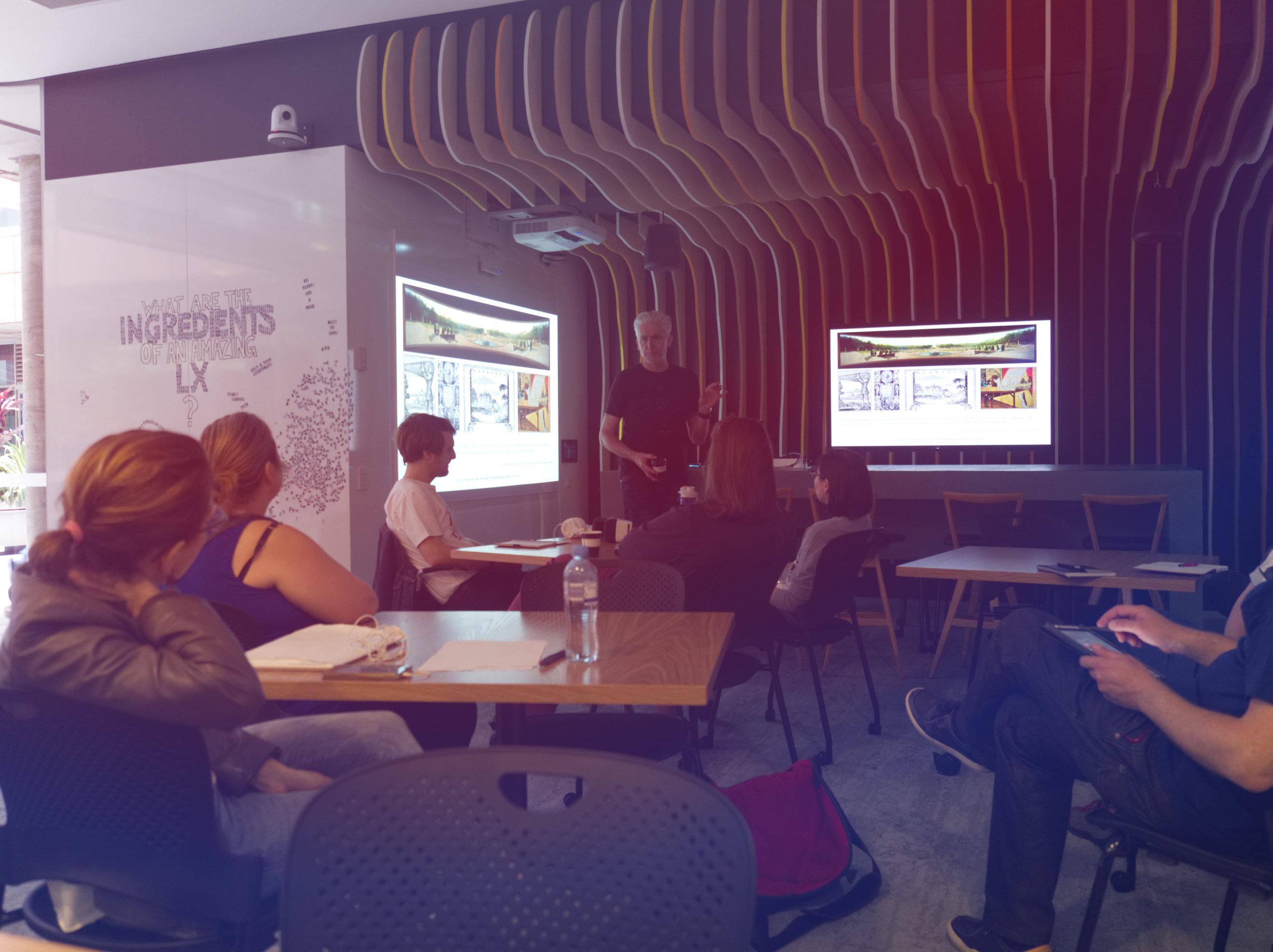 LX.lab AU MR VR Presentation