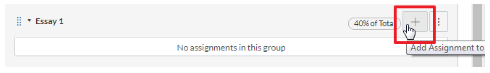 Screenshot of adding a new task